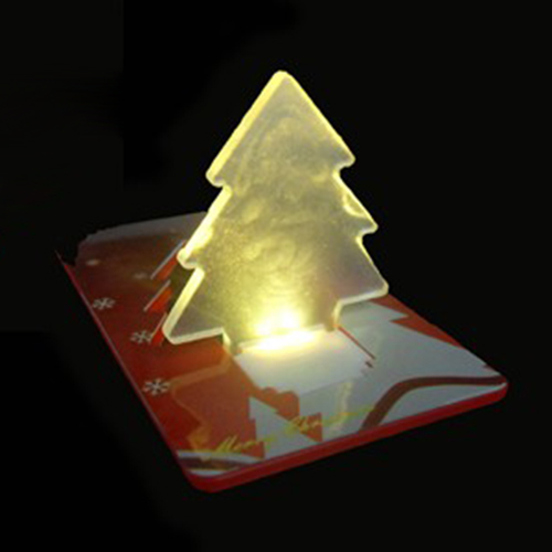 LED-Card Baum